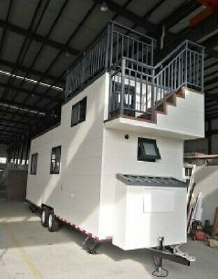 8.5m Mobile Tiny House Office THOW Cabin Granny Flat Container Studio Sleep out