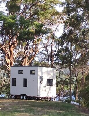 7.8m Mobile Tiny House Office THOW Cabin Granny Flat Container Studio Sleep out