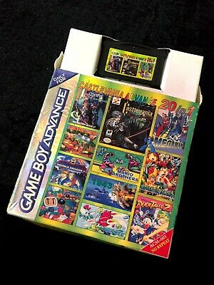 20 in 1 Multi cart GBA Gameboy Advance Nintendo Video Game Tested and Working