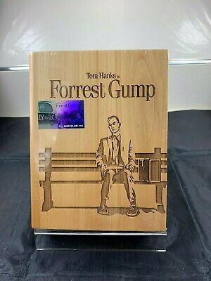 Forrest Gump 4K+2D Bluray, China Uhdclub, Wooden Case, Not Steelbook,New/Sealed