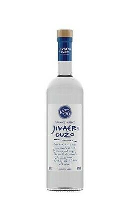 Ouzo Jivaeri 700ml Katsaros traditioneller Anis Trester Schnaps 40% Vol Greek