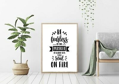 Wall Art, Prints, Modern Art, Poster, Quotes, Motivational, Typography, Unframed