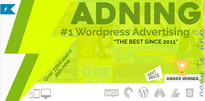 Adning Advertising - Professional, All In One Ad Manager for Wordpress - Updated
