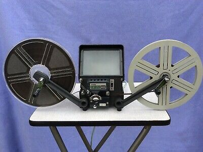 + Prinz Oxford 400 Super 8 Editor - 6V 10W - 600ft Capacity - Geared Rewind +