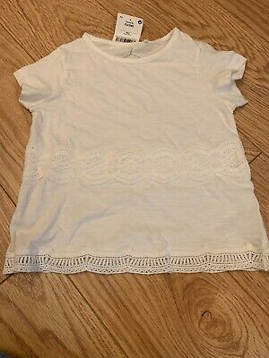 Girls Next Brocade  T-Shirt Top Age 4 Years BNWT