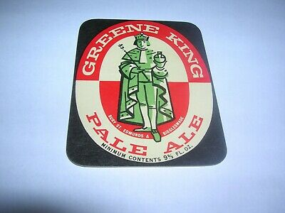 GREENE KING Pale Ale 9 2/3 Fl Oz Bury St.Edmunds & Biggleswade ENGLAND