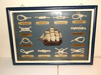 Nautical Framed Rope Knots