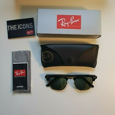 06f869d696 Genuine RayBan Clubmaster RB3016 Sunglasses - Brand New
