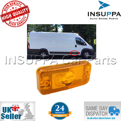 Side Marker Lamp For Citroen Relay Fiat Ducato Peugeot Boxer Iveco Daily 6303.A1