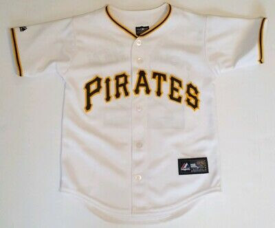 ba5bbcf7e Pittsburgh Pirates Andrew McCutchen #22 Majestic Youth MLB Jersey White  Small