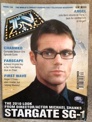 TV Zone 2001 134 Stargate SG1 First Wave Farscape Charmed Andromeda Angel Dr Who