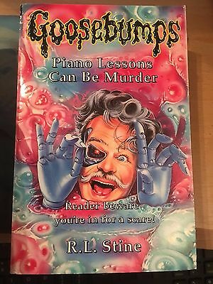 Piano lessons can be murder Goosebumps R L Stine paperback