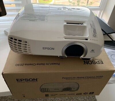 EPSON HOME CINEMA 2030 Projector, HDMI Output, 3 LCD, 1080p