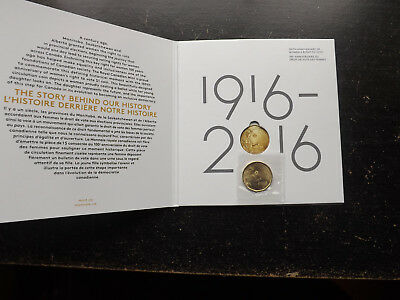 2016 Canada 100th Anniversary Women's right to vote display card w/ Sealed Coin