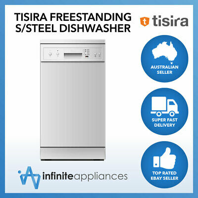 Tisira 45cm 9 Place Setting Compact Dishwasher in Stainless Steel (TDW9AX)