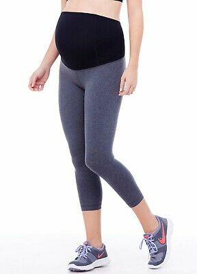 NEW - Ingrid & Isabel - Maternity Active Capri With Crossover Panel