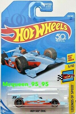 2018 Hot Wheels Legends Of Speed Indy 500 Oval