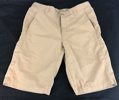 43dd4f90d THE NORTH FACE A5 Series men's flat front solid beige cargo short ...
