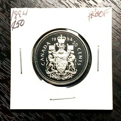 Canada 1994 50 Cents *Proof* From Rcm Set