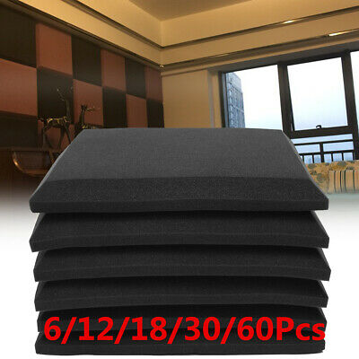 Acoustic Foams Wedge Panel Tiles Studio Room Wall Sound Proofing Room