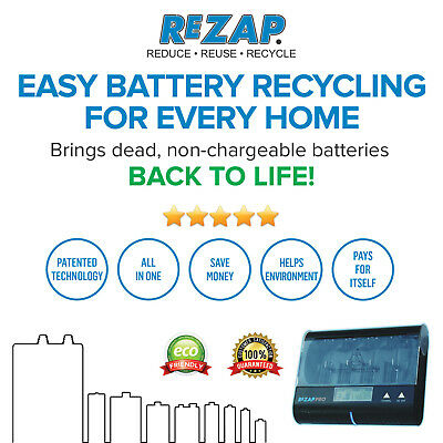 Rezap Pro + Lithium Batt Support - Adds New Lease Of Life To Your Dead Batteries