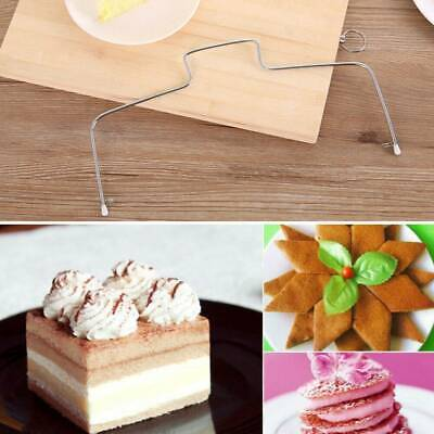 Adjustable Wire Cake Slicer Cutter Leveller Bread Wire Decorator Baking Tools