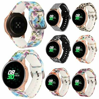 For Samsung Galaxy Watch Active Replacement Silicone Wrist Band Strap Bracelet