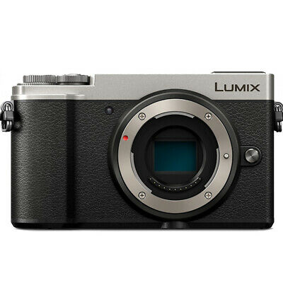 Panasonic Lumix DC-GX9 Mirrorless Micro Four Thirds Camera Silver - Body Only