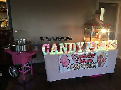 candy floss machine hire And Popcorn Hire With Attendant Manchester Not For Sale