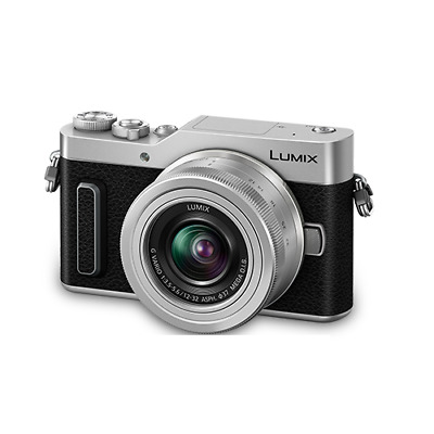 Panasonic LUMIX fotocamera Mirrorless DC-GF10K+12-32mm Silber Eng Menu IT*1