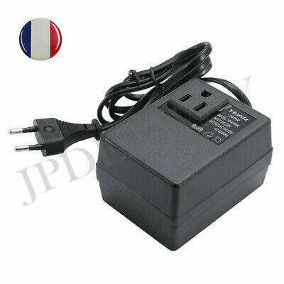 Convertisseur Transformateur Power Adapter EU Plug 200W AC 220V à 110V Voyage