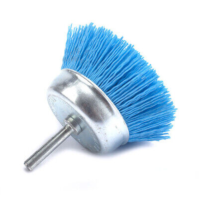 240# Cup Shaped Abrasive Polishing 75mm*6mm Shank Nylon Wire Brush For Deburring
