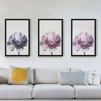 Flower Modern Wall Art Canvas Painting Picture Home Living
