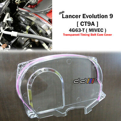 TRANSPARENT GEAR CAM Timing Belt Cover For MITSUBISHI Mirage