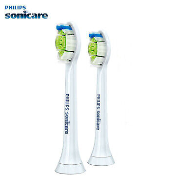 2-Pcs Philips Sonicare DiamondClean Genuine White Brush Heads | New Original