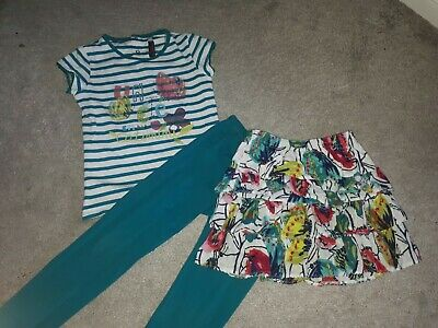 Catimini Girls 3 Piece Set Age 6 Years. Girls Designer Clothing