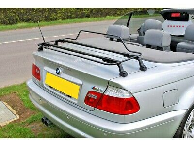 BMW 3 Series Convertible E46 2000-2007  Luggage Boot Rack  - black