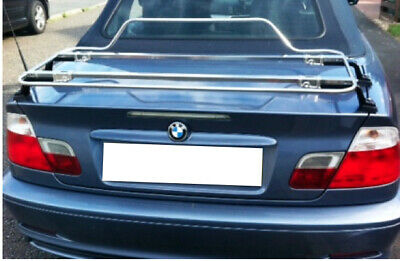 BMW 3 Series Convertible E46 2000-2007  Luggage Boot Rack  - Stainless Steel