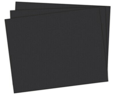 School Smart Railroad Board, 22 x 28 Inches, 6-Ply, Black, Pack of 25