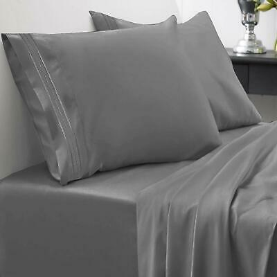 1800 Thread Count Sheet Set – Soft Egyptian Quality Brushed Microfiber Hypoall