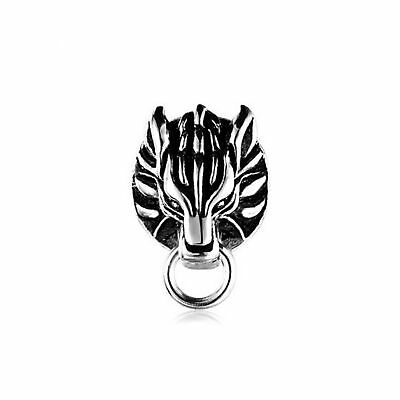 Ff7 Cloud Cloudy Wolf Motif Ring Earrings Final Fantasy Vii Advent