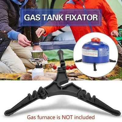 Foldable Outdoor Camping Cooking Gas Tank Stove Cartridge-Canister-Stand-Br M8G2