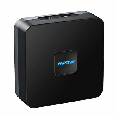 Mpow V4.1 Home Wireless Bluetooth Audio Receiver Hifi Aux 3.5mm to RCA Adapter