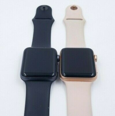 Apple Watch Series 3 38/42mm Smartwatch Fair Condition w/ Bands!