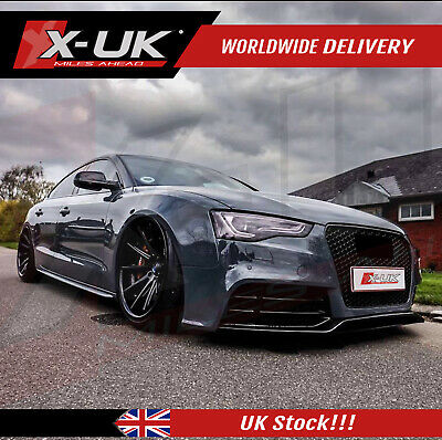 """RS5 style front bumper upgrade without grill for AUDI A5/S5 2012-2015 """"4 doors"""""""