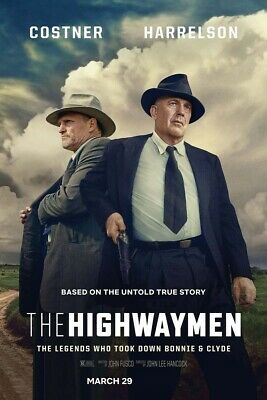 The Highwaymen [DVD] [2019]