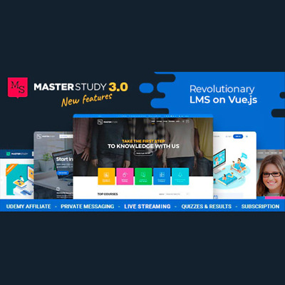 Masterstudy Education - LMS WordPress Theme for Education, eLearning and Online