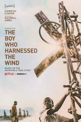 The Boy Who Harnessed Wind [2019] [DVD]