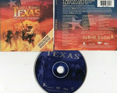 Jame A. Michener's Texas-A Musical Collection Inspired By The Film Cd