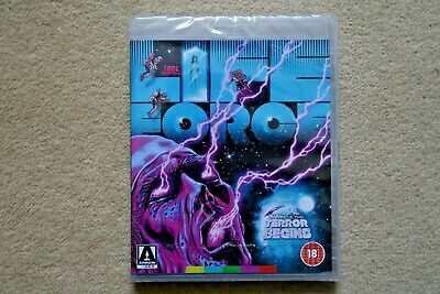 Blu-Ray Lifeforce  New 2019 Version    ( Arrow )     Brand New Sealed Uk Stock